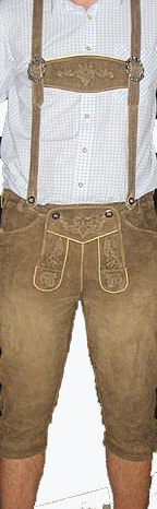 Traditional Bavarian Lederhosen